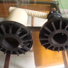 Lưới chặn hạt side Mount cột Composite 6 inch